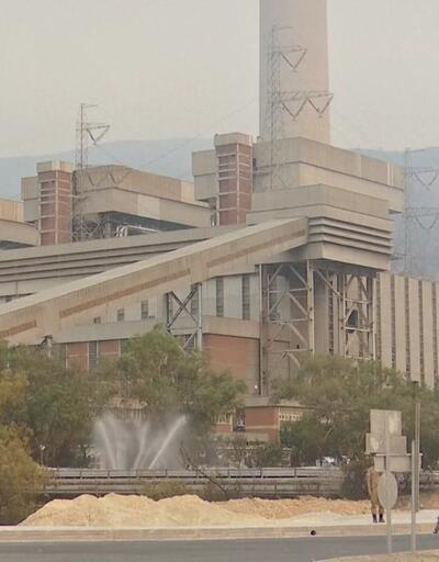 SON DAKİKA: Milas'ta termik santral bölgesindeki alevler etkisini kaybetti