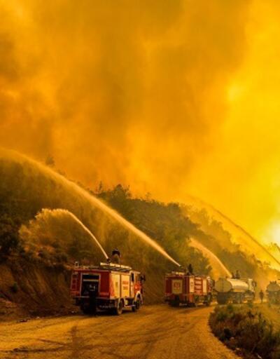 Devam eden orman yangınları
