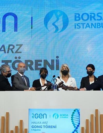 Borsa İstanbul'da gong GEN için çaldı