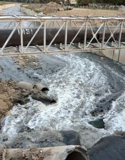 Haramidere'de sıcak hava kirlilik ve kokuyu arttırdı