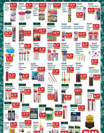 BİM aktüel 20 Ağustos 2021 kataloğu okul ürünleri satışta! Bugün Cuma BİM aktüel kataloğu ürünleri neler?