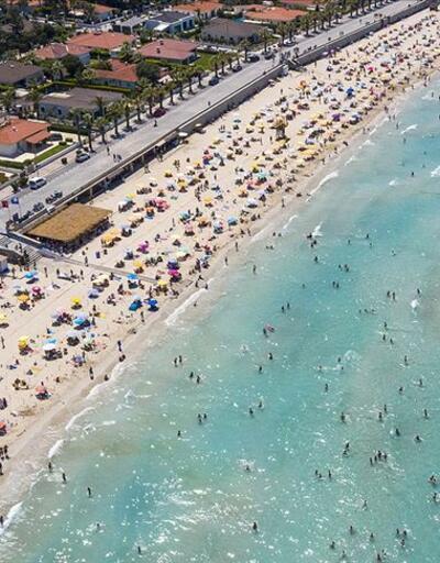 Çeşme turizmi salgına rağmen rekor kırıyor
