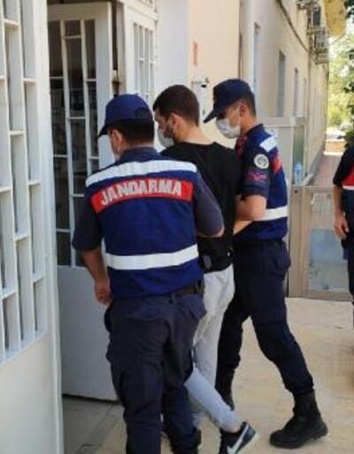 Evinde uyuşturucu yakalana şüpheli gözaltına alındı