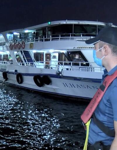 Boğaz'da teknelere yönelik 'Yeditepe Huzur' denetimi