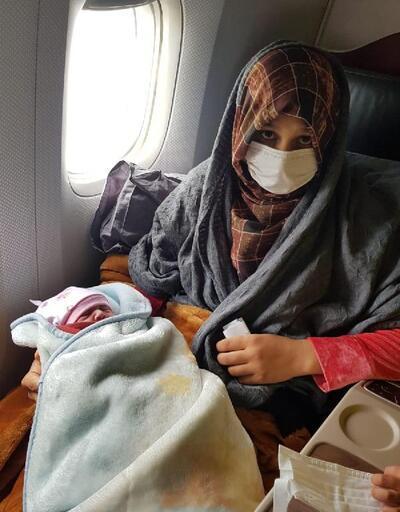Tahliye uçuşunda Havva bebek dünyaya geldi