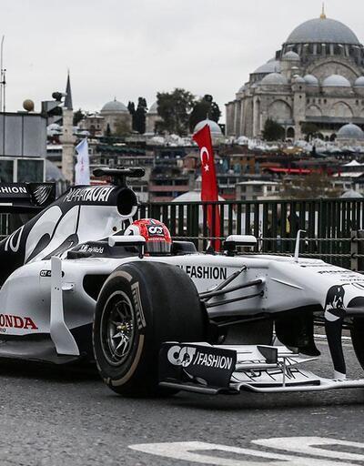 İstanbul F1 etkinliği 8-10 Ekim'de