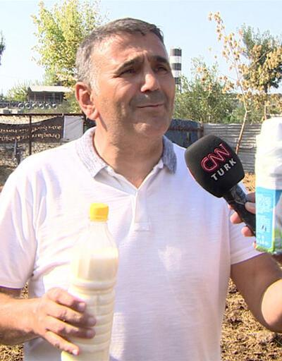 1 kg süt üreticide 3, markette 9 lira