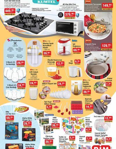 Bugün BİM aktüel kataloğu 3 Eylül 2021 Cuma ürünleri satışta! Bu hafta BİM aktüel ürünler kataloğu 3 sayfa!