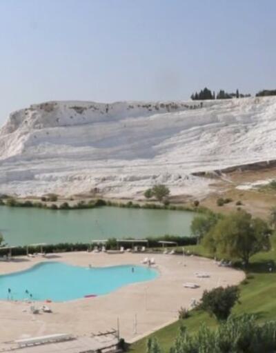 Beyaz cennete ziyaretçi akını