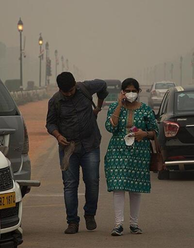 Hindistan'da hava kirliliği insanların ömrünü 9 yıla kadar kısaltabilir