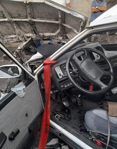 İstanbul Bakırköy'de feci kaza: Ortalık savaş alanına döndü