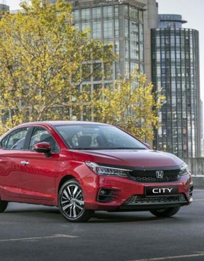 Honda'nın yeni City'si 219 bin TL'den geldi