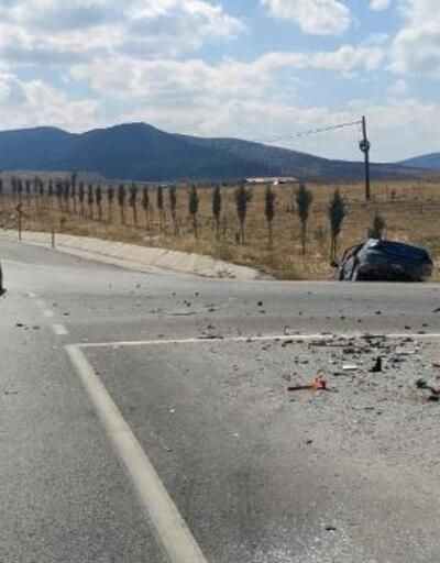 Emirdağ'da kaza: 2 yaralı