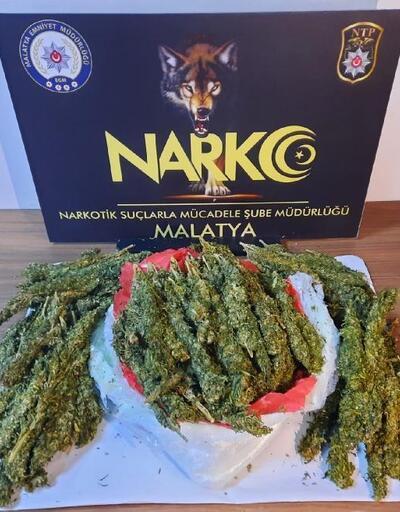 Malatya'da 5 kilo esrara 1 tutuklama