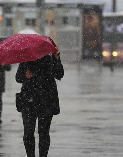 """7 il için """"çok kuvvetli"""" yağış uyarısı"""
