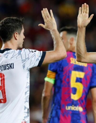 Barcelona Bayern karşısında dağıldı