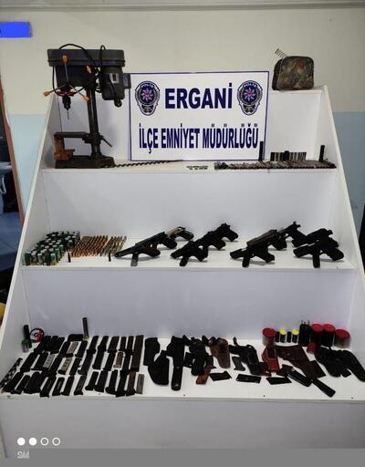 Ergani'de silah imalatı yapan kişi tutuklandı