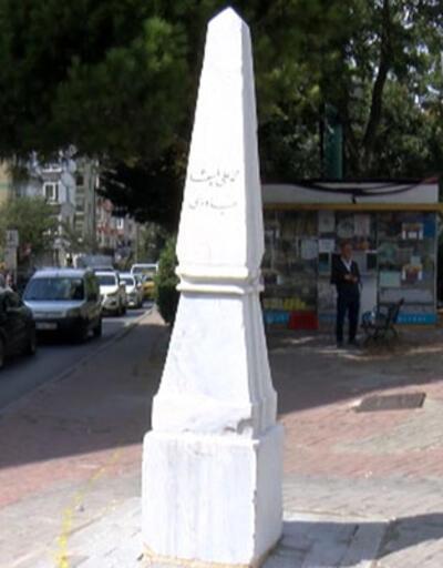Park yeri olarak kullanılan tarihi Dikilitaş için özel çalışma
