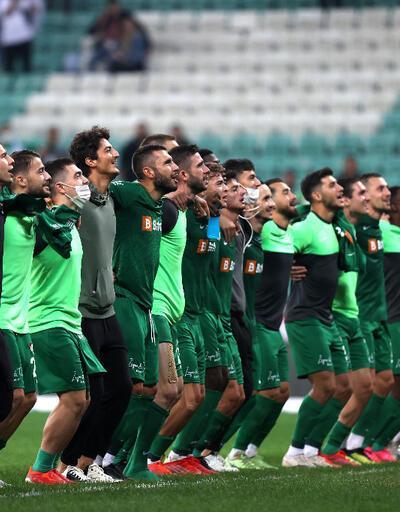 Bursaspor'dan Samsunspor'a 4 gol