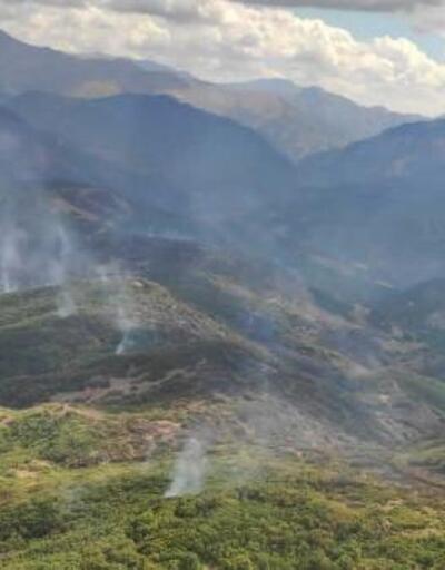 Tunceli'deki yangın 3. günde kontrol altında