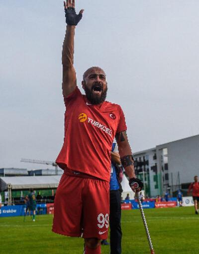 Son dakika... Ampute Milli Takımımız gol yemeden yarı finalde!