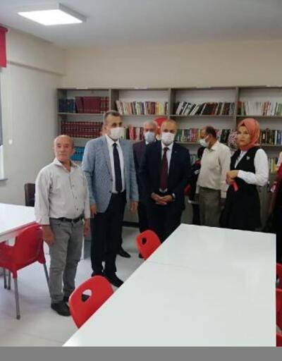 Şehit onbaşının isminin verildiği okul kütüphanesi açıldı