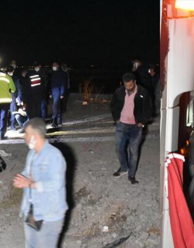 Konya'da yolcu otobüsü devrildi!