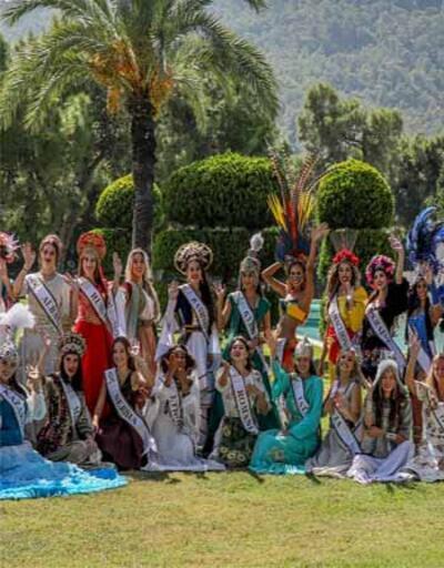 40 ülke güzeli, kraliçe olmak için Antalya'da kampta