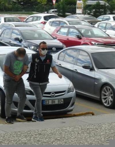 Otomobilde metamfetamin ile yakalandılar