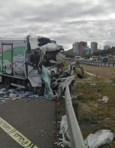 Ankara'da zincirleme kaza: 1 ölü, 2 yaralı