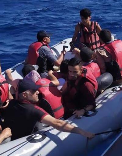 Muğla'da 15 düzensiz göçmen kurtarıldı