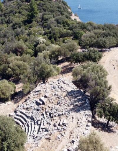 Marmaris'te MÖ. 6 yüzyıla dayanan tarih gün yüzüne çıkıyor