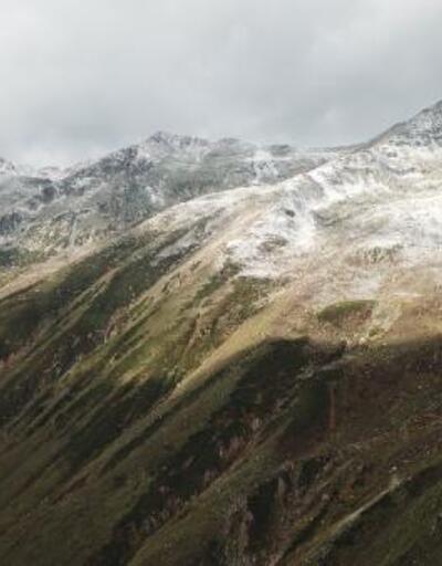 Kaçkar Dağı zirvesi bembeyaz oldu
