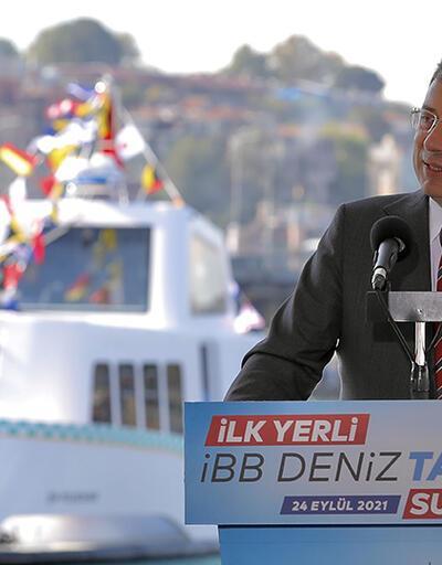 Yeni deniz taksiler suya indirildi
