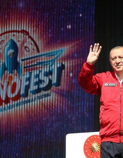 Cumhurbaşkanı Erdoğan'dan TEKNOFEST paylaşımı