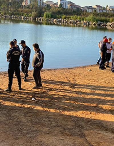 İstanbul'da gölete giren bir kişi kayboldu