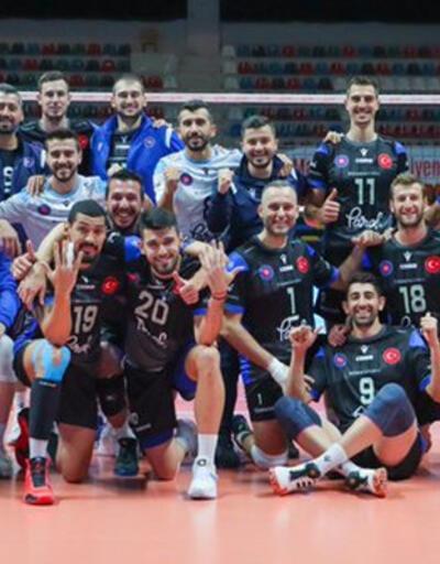 Son dakika... Halkbank üst üste ikinci kez Balkan Kupası'nı kazandı