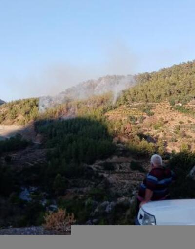 Gazipaşa'da orman yangını büyümeden söndürüldü