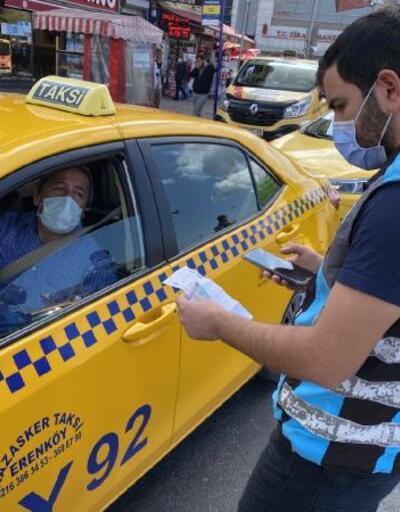 Kadıköy'de taksicilere denetim