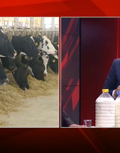 CNN TÜRK yayınında süt analizi yapıldı