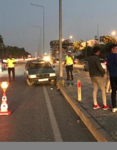Kazada baba ve oğlu yaralandı