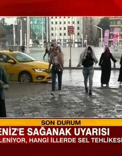 Bu bölgelerde yaşayanlar dikkat: Meteoroloji'den kuvvetli yağış uyarısı