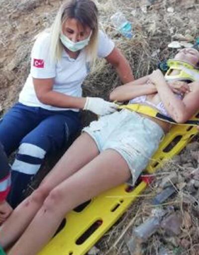 İskoç çift ATV ile yuvarlandığı 25 metrelik uçurumdan kurtarıldı