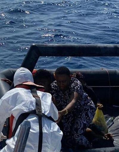 Muğla'da 26 düzensiz göçmen kurtarıldı