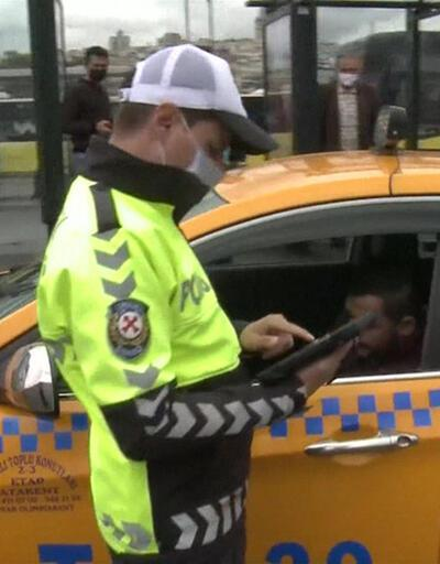 Yolcu seçen, yol beğenmeyen taksiciler belirleniyor