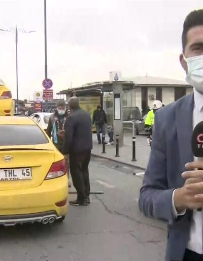 Yolcu seçen 3 taksiye trafikten men