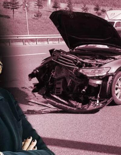 TIR'dan fırlayan tekerlek dehşeti: Hande Fırat otoyolda ölümden döndü