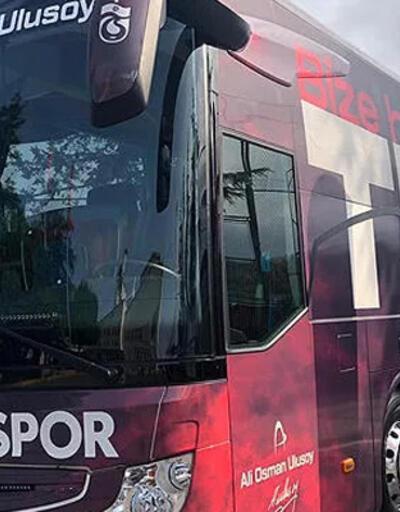 Trabzonspor'a özel yeni tasarım takım otobüsü