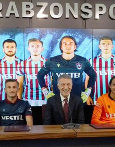 Son dakika... Trabzonspor'da 4 imza birden!