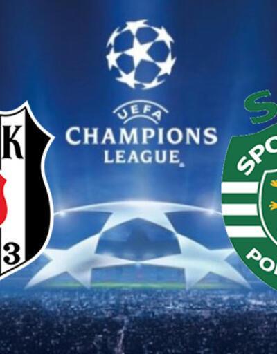CANLI | Beşiktaş Sporting Lizbon maçı ne zaman, saat kaçta? BJK Şampiyonlar Ligi maçı hangi kanalda?